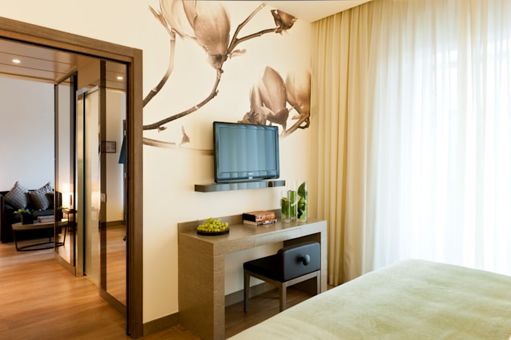 Projekty,  Pomieszczenia biurowe i magazynowe zaprojektowane przez Andrea Auletta Interior Design
