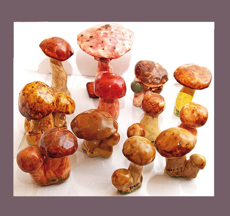 les champignons: Art de style  par Atelier d'artiste SYRIEX RD