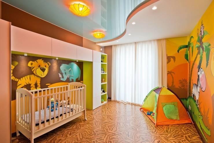 Квартира в Эко стиле: Детские комнаты в . Автор – Студия дизайна