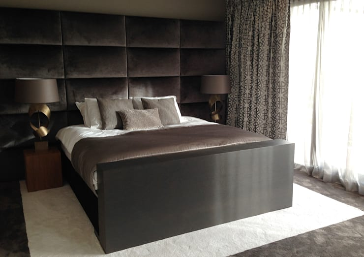modern Bedroom by choc studio interieur