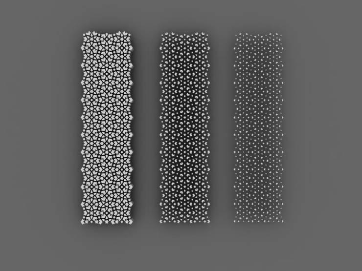 Puertas y ventanas de estilo  por Peter Pichler Architecture