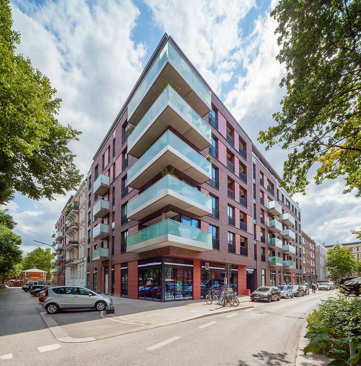 Lange Reihe – Bülaustraße: modern  von Wessling + Walkenhorst Architekten bda,Modern