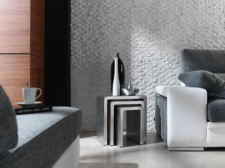 PANEL CONCEPT BLANCO: Oficinas y tiendas de estilo  de PANELPIEDRA
