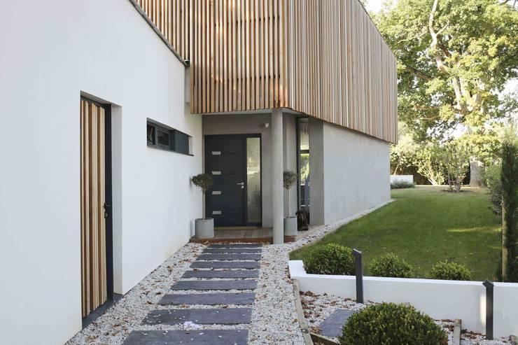 Maison neuve à Biarritz par Atelier d\'Architecture Christophe Létot ...