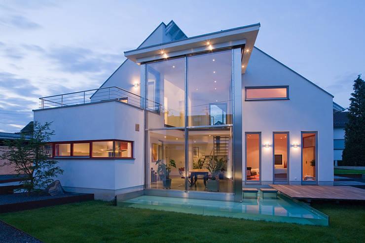 Projekty,  Domy zaprojektowane przez aaw Architektenbüro Arno Weirich