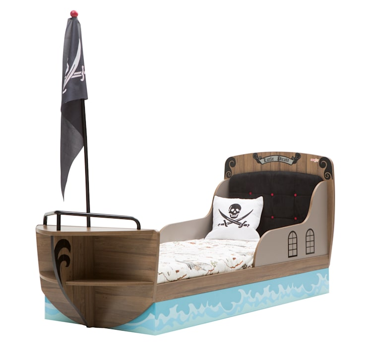 Pirate Ship Children's Bed in Captain Design:  Nursery/kid's room by Cuckooland