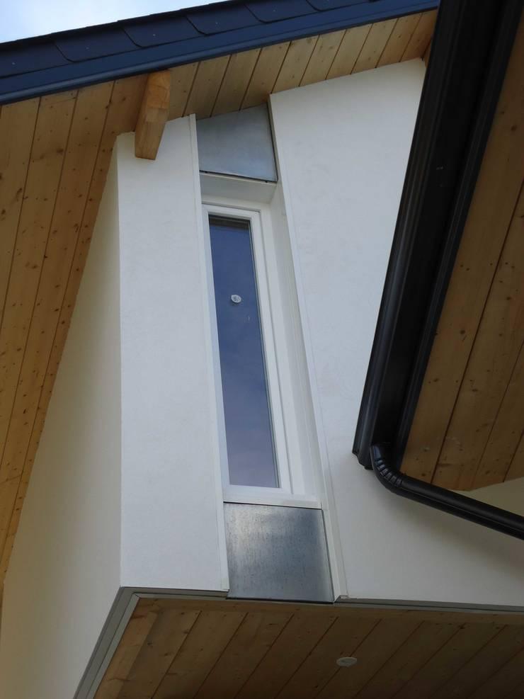 Construction d'une maison ossature bois à Trois Villes: Maisons de style  par Atelier d'Architecture Christophe Létot