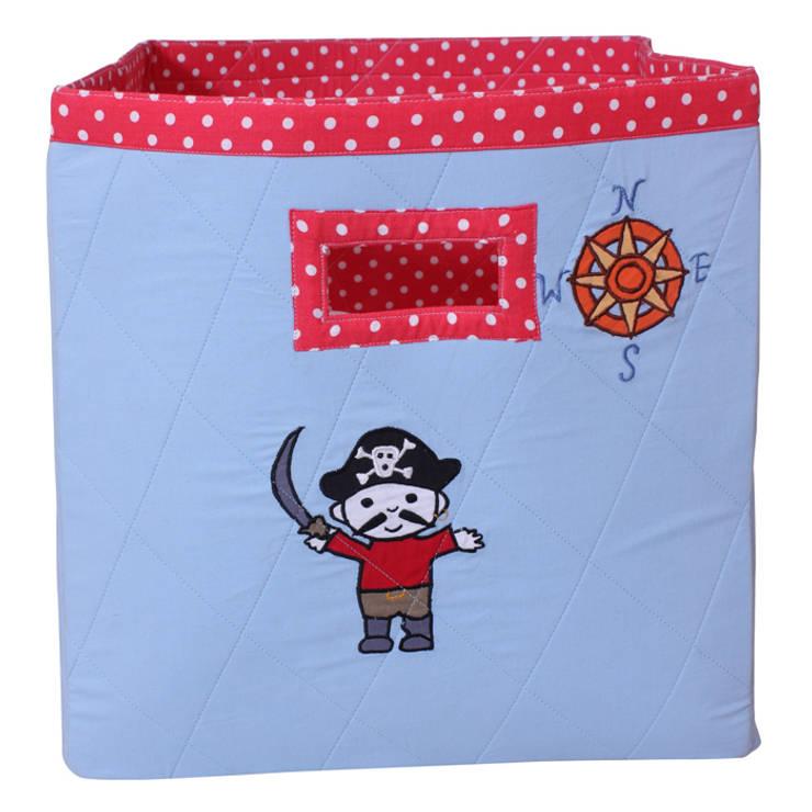 Storage Bag in Pirate Design:  Nursery/kid's room by Cuckooland