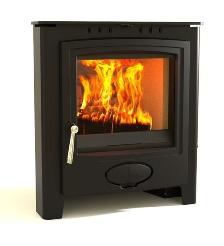 Aarrow Ecoburn Plus 7 Inset Wood Burning / Multi Fuel Stove:  Living room by Direct Stoves