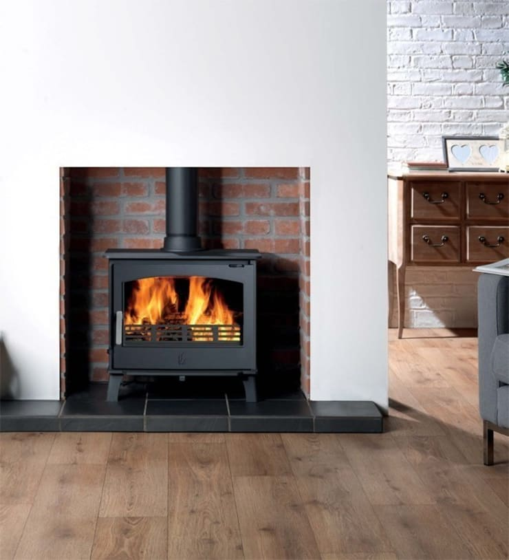 ACR Hopwood DEFRA Approved Wood Burning / Multi Fuel Stove:  Living room by Direct Stoves