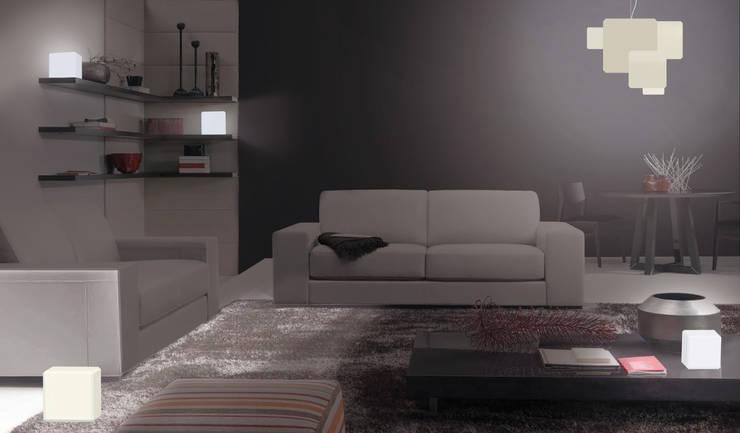 Lumière modulable 'pX': Maison de style  par Jerome Elie