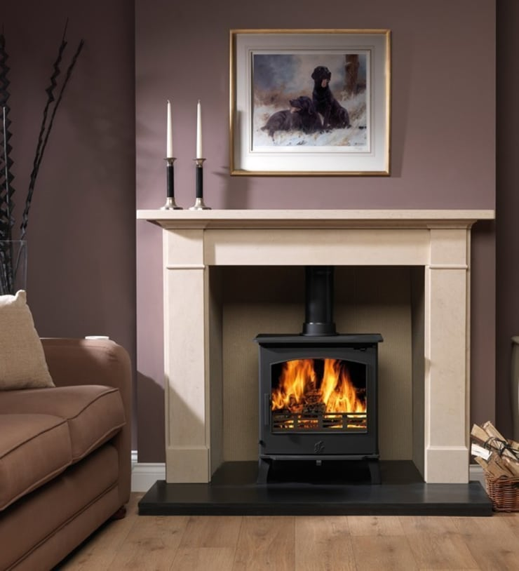 ACR Astwood DEFRA Approved Wood Burning / Multi Fuel Stove:  Living room by Direct Stoves