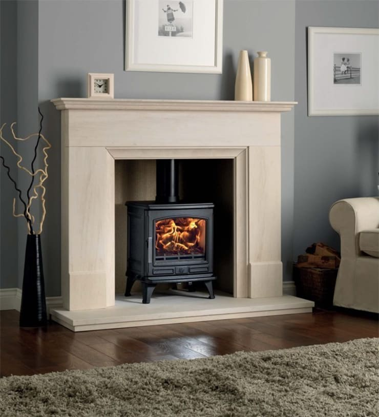 ACR Oakdale DEFRA Approved Wood Burning /  Multi Fuel Stove:  Living room by Direct Stoves