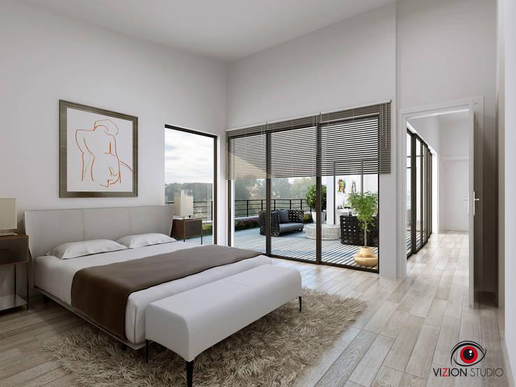 Perspective 3D Chambre Parentale Pour La Commercialisation Du0027une Maison  Individuelle: Chambre De Style