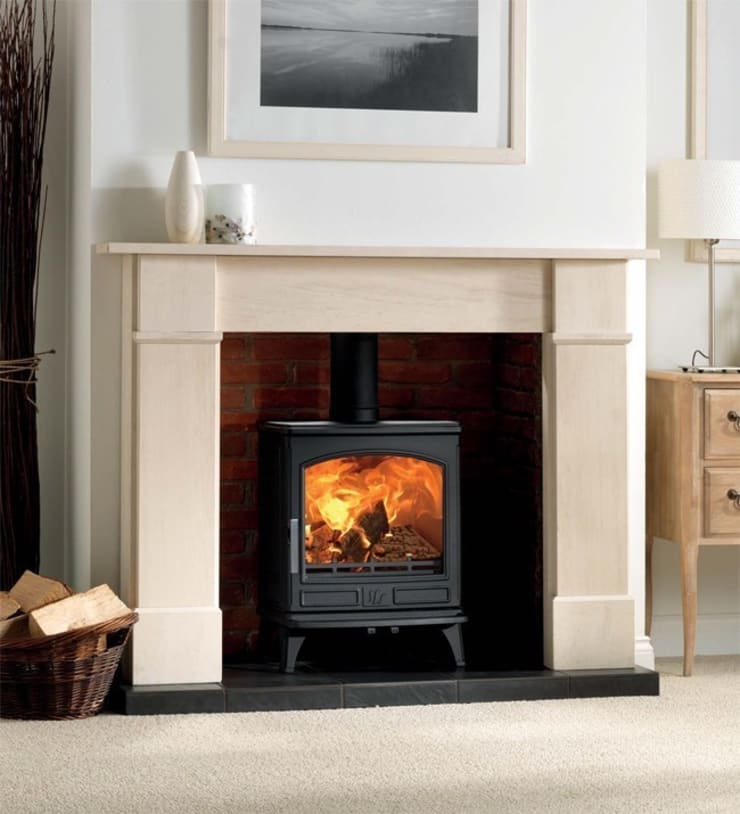 ACR Ashdale DEFRA Approved Multi Fuel Stove:  Living room by Direct Stoves