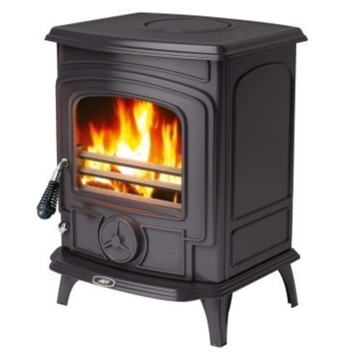 AGA Little Wenlock Wood Burning / Multi Fuel Stove:  Living room by Direct Stoves