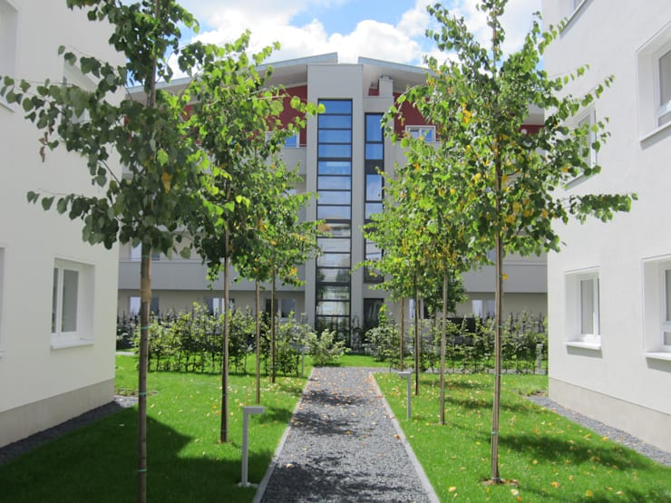 Blick auf den Panoramaaufzug:  Häuser von aaw Architektenbüro Arno Weirich