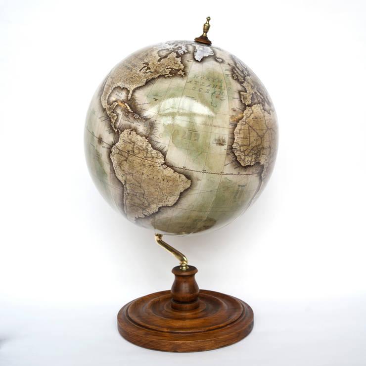 Bellerby & Co Globemakers Livingstone Globe:  Living room by Bellerby and Co Globemakers