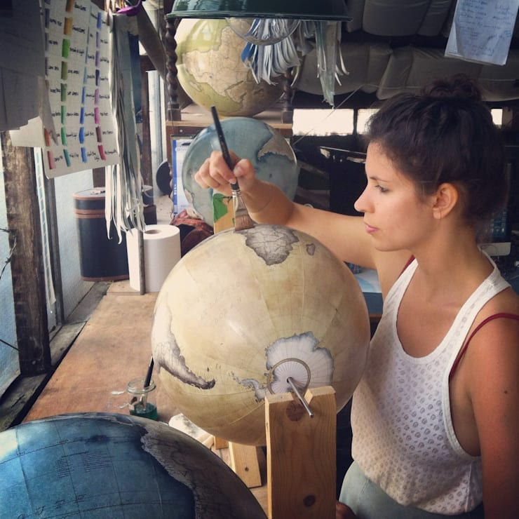 Bellerby & Co Globemakers, London:   by Bellerby and Co Globemakers
