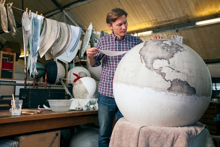 Peter Bellerby, Bellerby and Co Globemakers:   by Bellerby and Co Globemakers