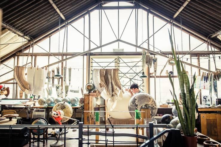 The Studio of Bellerby & Co Globemakers, London:   by Bellerby and Co Globemakers