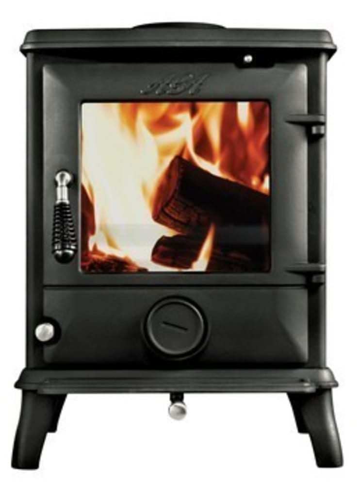AGA Ludlow SE Wood Burning Stove:  Living room by Direct Stoves