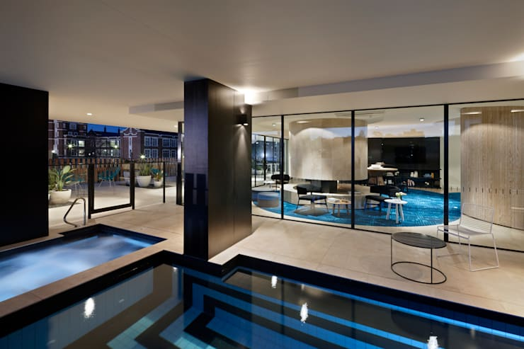 Claremont Apartments:  Houses by Hassell Studio
