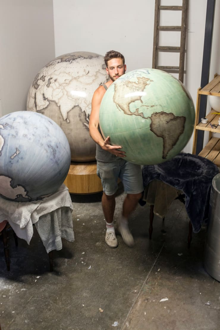 Studio of Bellerby and Co Globemakers:   by Bellerby and Co Globemakers