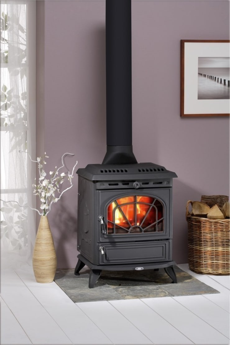 AGA Minsterley Wood Burning / Multi Fuel Stove:  Living room by Direct Stoves