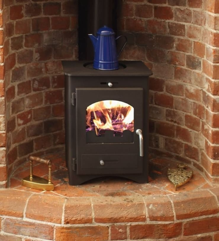 Bohemia 30 Multi Fuel Stove:  Living room by Direct Stoves
