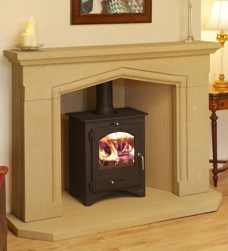 Bohemia 50 Multi Stove:  Living room by Direct Stoves