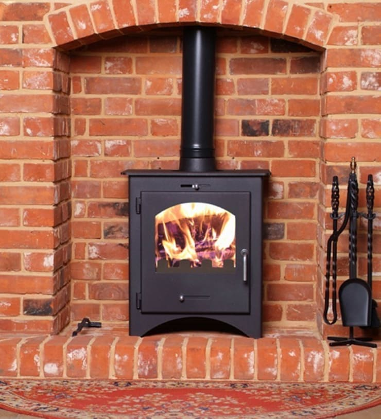 Bohemia 60 Multi Fuel Stove:  Living room by Direct Stoves