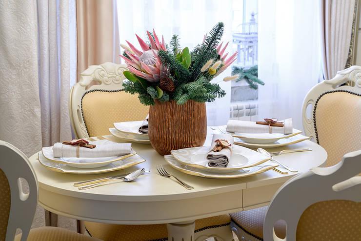 классика в квартире: Кухни в . Автор – Студия дизайна