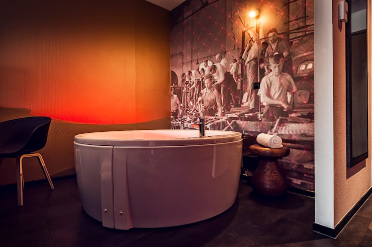 Hotel:  Hotels door Ab Interieurarchitect