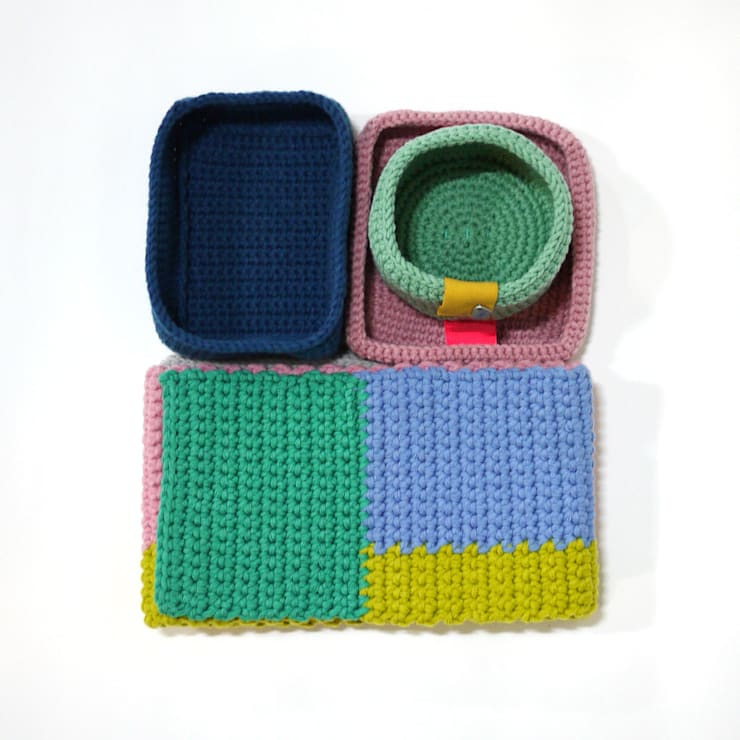 Knit-reet: ATELIER JUNNNE의  서재/사무실