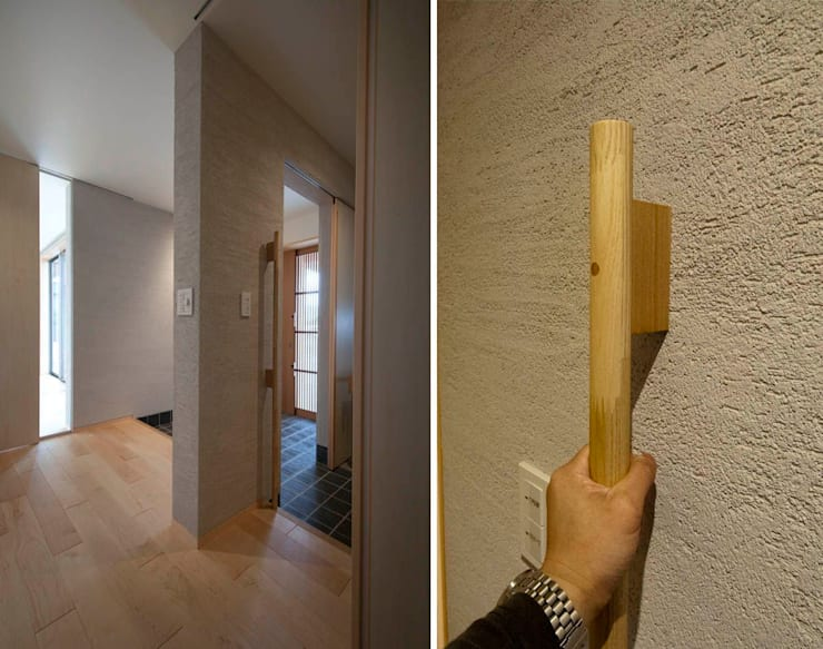 内玄関: 家山真建築研究室 Makoto Ieyama Architect Officeが手掛けた家です。