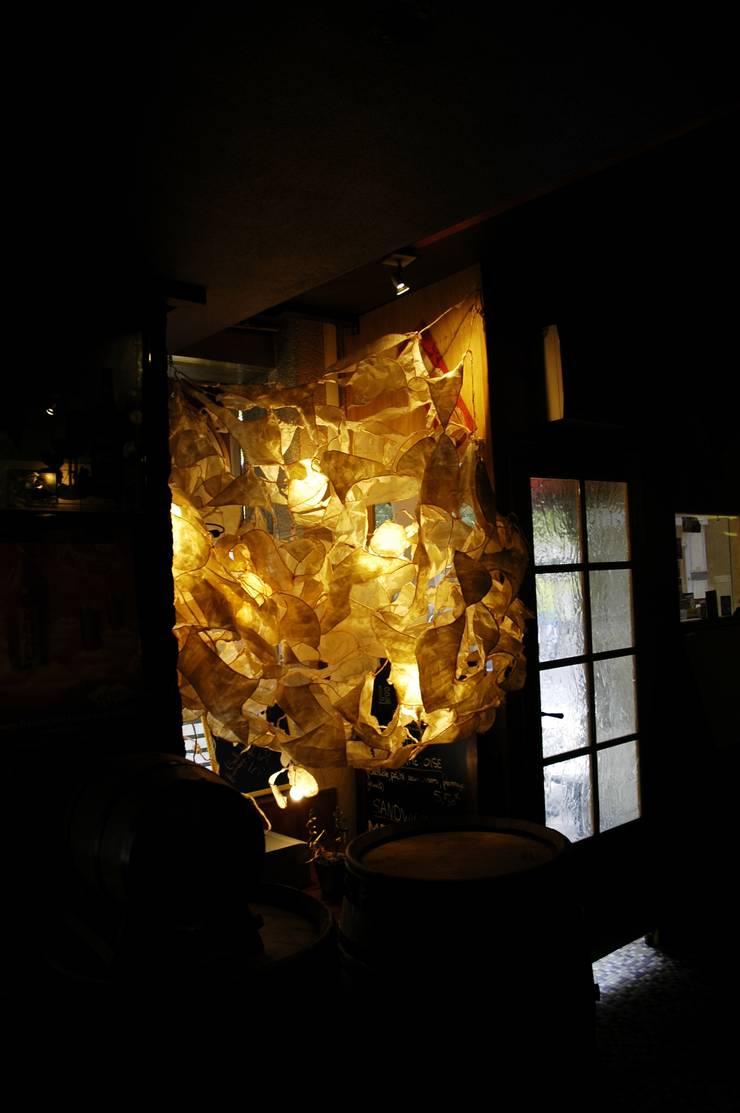 Structure lumineuse floral: Art de style  par Decibel Design