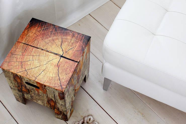 TREE TRUNK Dutch Design Chair:  Wohnzimmer von Dutch Design,