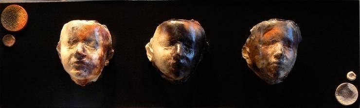"""DÉTAIL DE """"LUCIE"""": Art de style  par Judith Regnault-Tedesco"""
