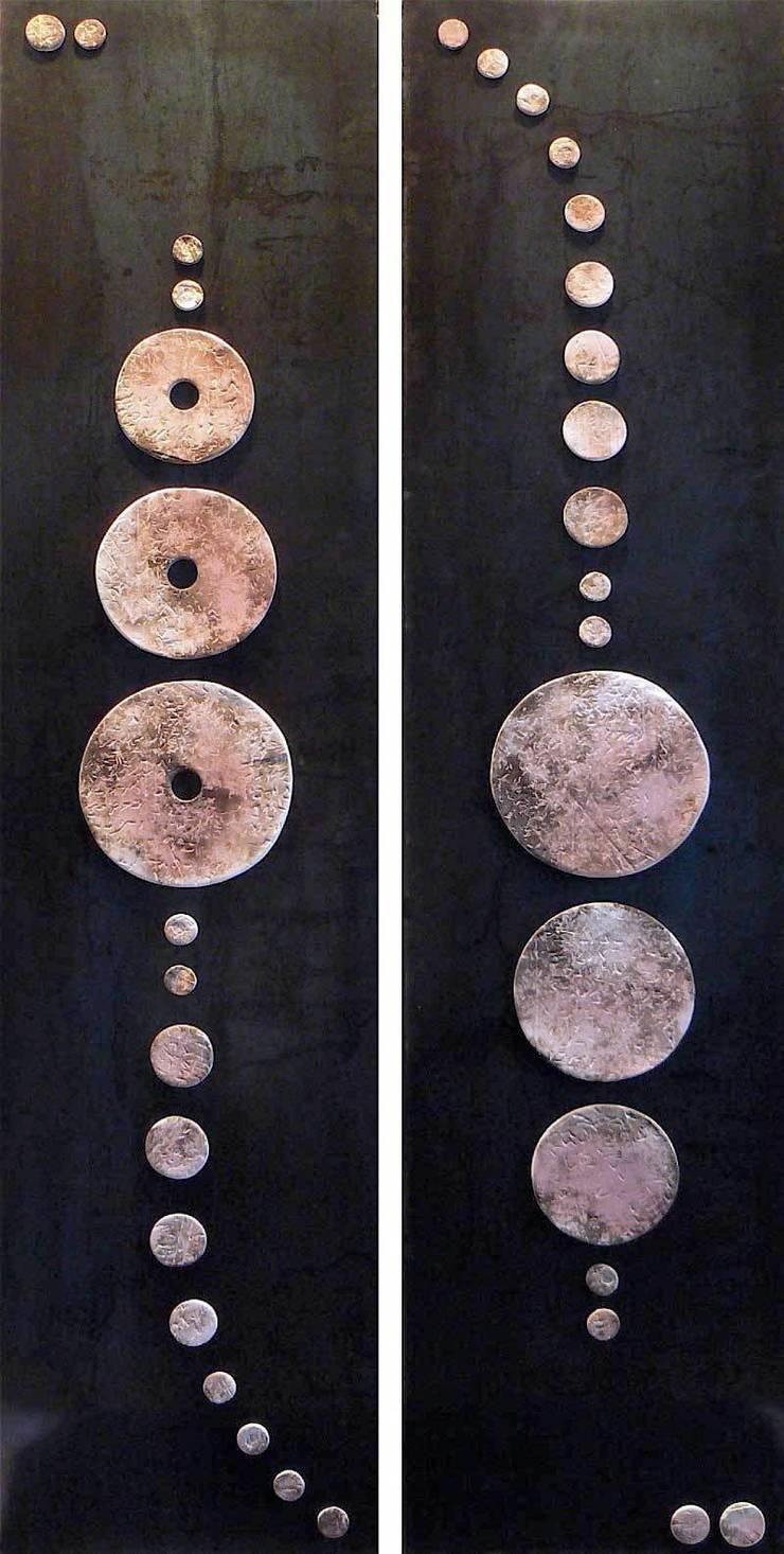DÉTAIL DIPTYQUE ROSE: Art de style  par Judith Regnault-Tedesco