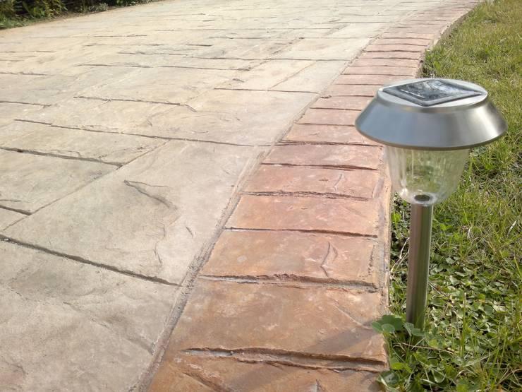 Pavimento Modernoが手掛けた現代の, モダン コンクリート