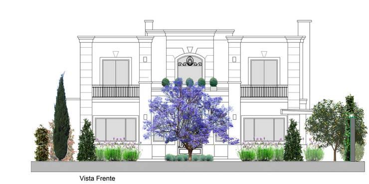 Jardines de estilo  por Paisajismo Digital