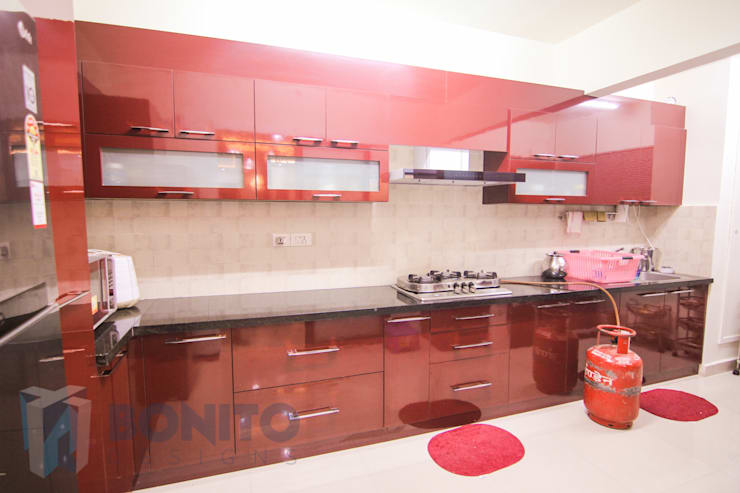 10 Deliciously Bold Colour Schemes For Brightening Up Indian Kitchens