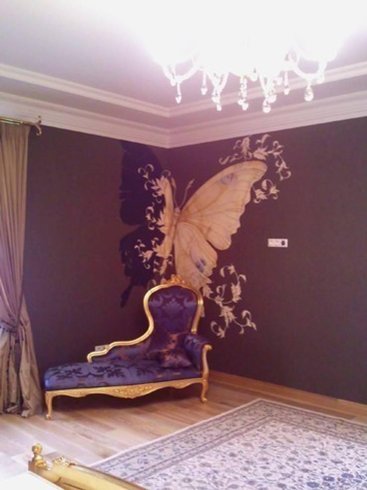 бабочка: Спальни в . Автор – Абрикос