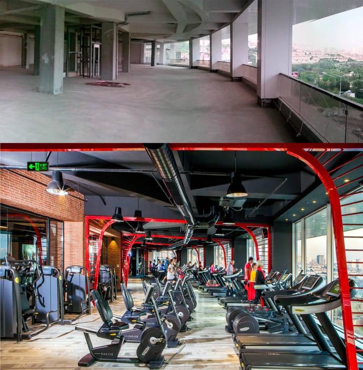 ÖZHAN HAZIRLAR İÇ MİMARLIK – 7/24 Fitness Loca Bahçeşehir:  tarz