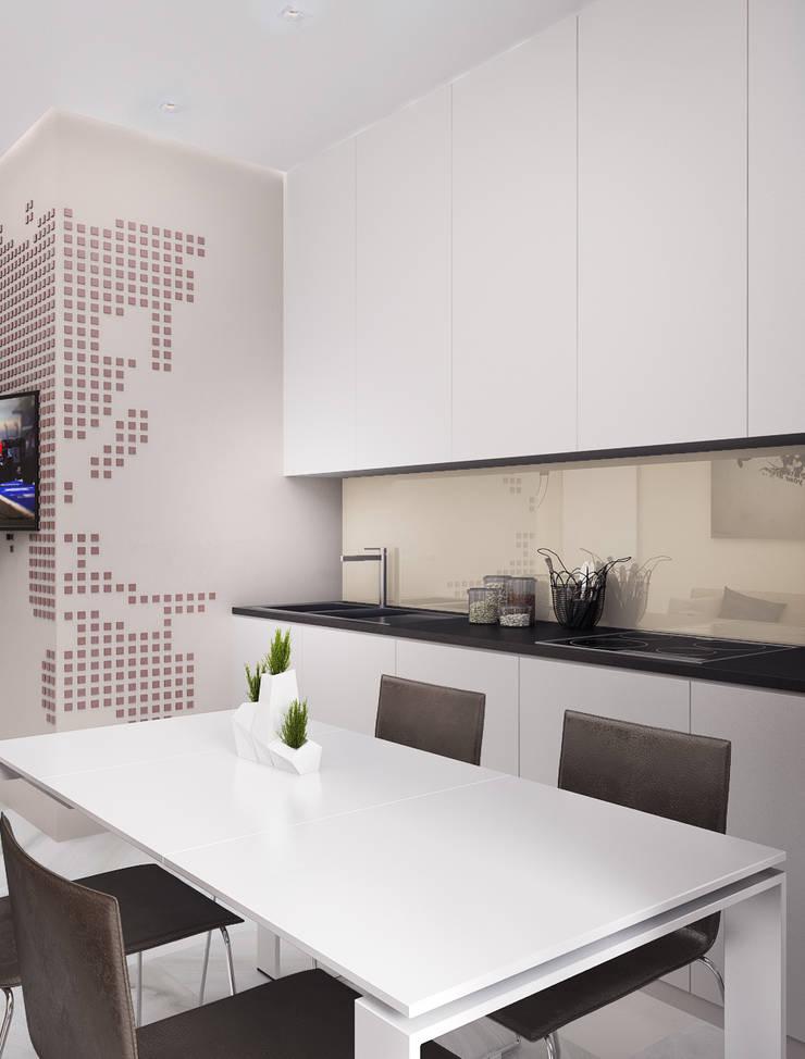 Студия в Ялте: Кухни в . Автор – VITTA-GROUP