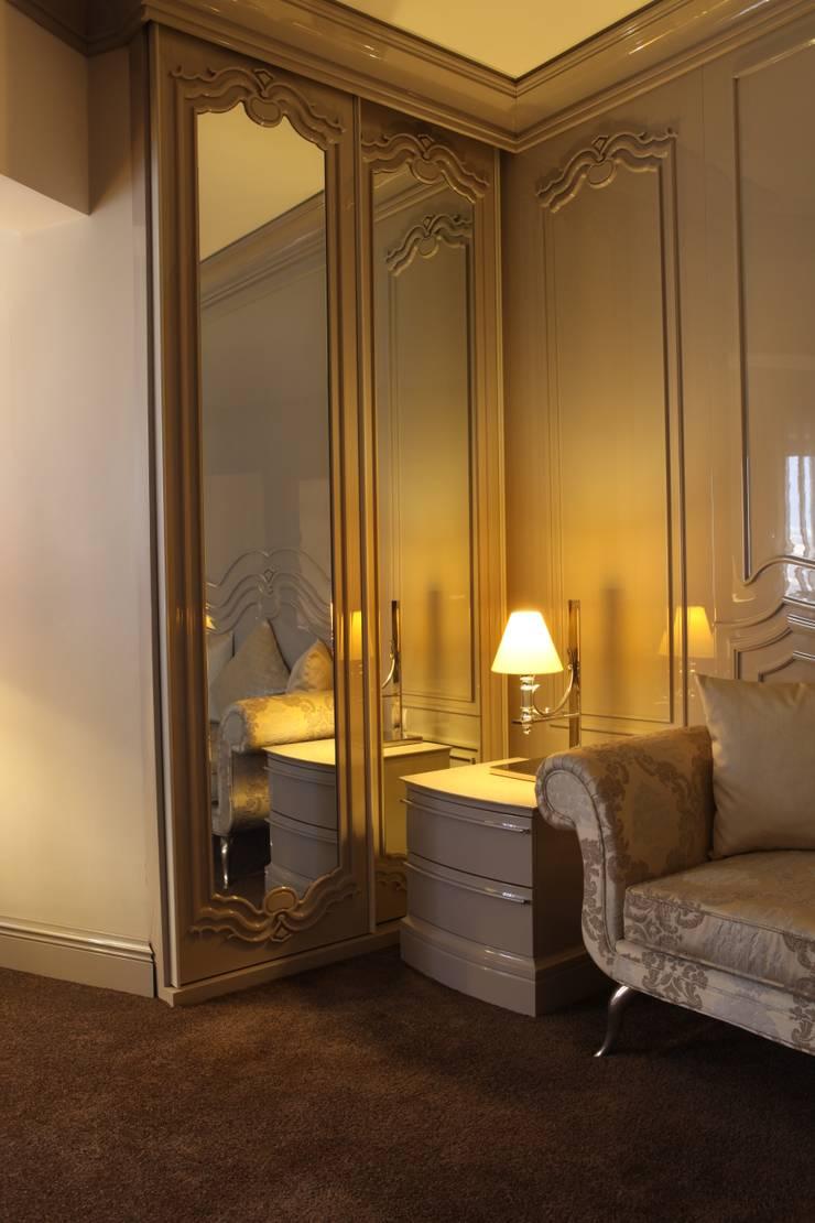 Mobi Mobilya  – Yatak odası detayı:  tarz Oteller
