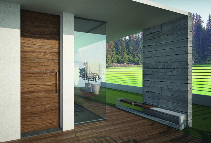 REVO3 di Gardesa: Finestre & Porte in stile  di Gardesa