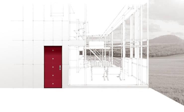 Futura di Gardesa: Finestre & Porte in stile  di Gardesa