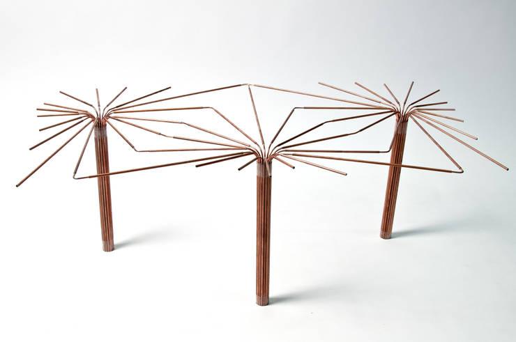 Maquette Canopée: Salle à manger de style de style eclectique par Julie Martin